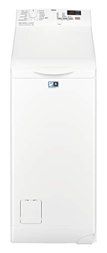 AEG L6TB40260 Waschmaschine Toplader / 6,0 kg / Mengenautomatik / Nachlegefunktion / Kindersicherung / Wasserstopp / 1200 U/min - 1
