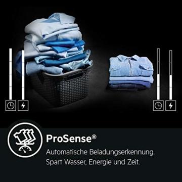 AEG L6TB40260 Waschmaschine Toplader / 6,0 kg / Mengenautomatik / Nachlegefunktion / Kindersicherung / Wasserstopp / 1200 U/min - 5