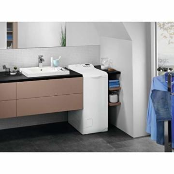 AEG L6TB40260 Waschmaschine Toplader / 6,0 kg / Mengenautomatik / Nachlegefunktion / Kindersicherung / Wasserstopp / 1200 U/min - 6