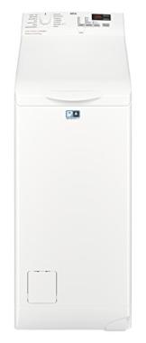 AEG L6TB40460 Waschmaschine Toplader / 6,0 kg / Mengenautomatik / Nachlegefunktion / Kindersicherung / Wasserstopp / 1400 U/min - 1