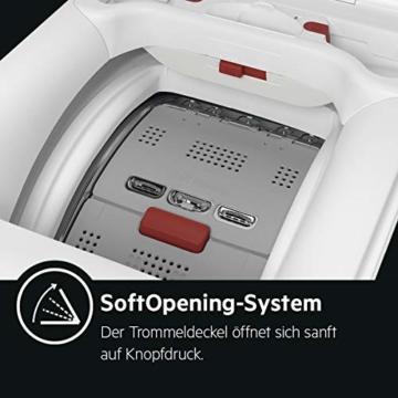 AEG L6TB40460 Waschmaschine Toplader / 6,0 kg / Mengenautomatik / Nachlegefunktion / Kindersicherung / Wasserstopp / 1400 U/min - 5