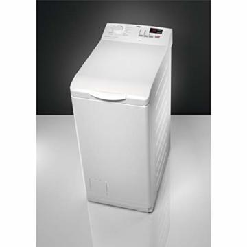 AEG L6TB40460 Waschmaschine Toplader / 6,0 kg / Mengenautomatik / Nachlegefunktion / Kindersicherung / Wasserstopp / 1400 U/min - 7