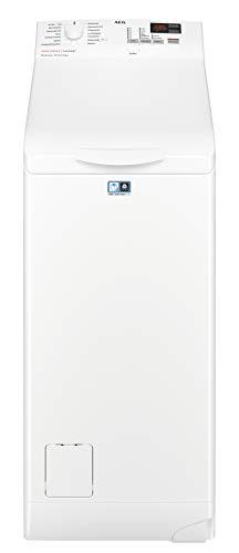 AEG L6TB41270 Waschmaschine / Energieklasse A+++ (175 kWh pro Jahr) / 7 kg / Toplader Waschautomat / ProSense Mengenautomatik / Startzeitvorwahl / Weiß - 1