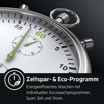 AEG L6TB41270 Waschmaschine / Energieklasse A+++ (175 kWh pro Jahr) / 7 kg / Toplader Waschautomat / ProSense Mengenautomatik / Startzeitvorwahl / Weiß - 9