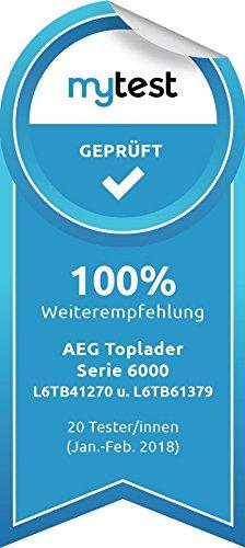 AEG L6TB41270 Waschmaschine / Energieklasse A+++ (175 kWh pro Jahr) / 7 kg / Toplader Waschautomat / ProSense Mengenautomatik / Startzeitvorwahl / Weiß - 13