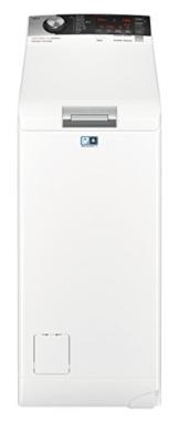 AEG L7TE84565 Waschmaschine / EEK A+++ ( 122 kWh/Jahr / 6 kg / ProSteam Technologie / ProSense Mengenautomatik / Toplader / Startzeitvorwahl / Knitterschutz - 1