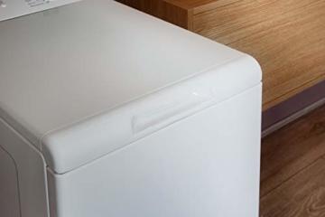 Bauknecht WAT Prime 550 SD N Toplader-Waschmaschine / 5,5 kg / 1000 UpM/Kurz 15 /Startzeitvorwahl/leise mit 60dB/ Mehrfachwasserschutz +/Kurz-Taste, Weiß - 3