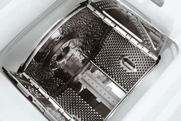Bauknecht WAT Prime 550 SD N Toplader-Waschmaschine / 5,5 kg / 1000 UpM/Kurz 15 /Startzeitvorwahl/leise mit 60dB/ Mehrfachwasserschutz +/Kurz-Taste, Weiß - 4
