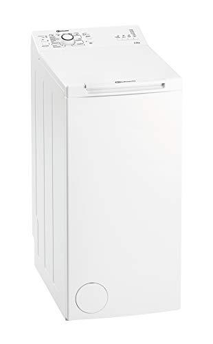 Bauknecht WAT Prime 550 SD N Toplader-Waschmaschine / 5,5 kg / 1000 UpM/Kurz 15 /Startzeitvorwahl/leise mit 60dB/ Mehrfachwasserschutz +/Kurz-Taste, Weiß - 1