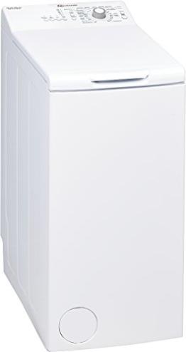 Bauknecht WAT Prime 550 SD Waschmaschine TL / A++ / 160 kWh/Jahr / 1000 UpM / 5,5 kg / Kurz 15 schnelle Wäsche in 15 min /Mengenautomatik - 1