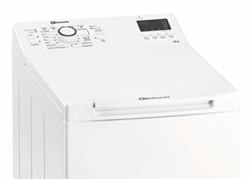 Bauknecht WAT Prime 652 Di N Toplader-Waschmaschine / 6 kg / 1152 UpM/FreshFinish/Startzeitvorwahl/Kurz 30'/ Kaltwäsche-Option/Antiflecken-Programm, Weiß - 9