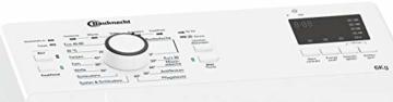 Bauknecht WAT Prime 652 Di N Toplader-Waschmaschine / 6 kg / 1152 UpM/FreshFinish/Startzeitvorwahl/Kurz 30'/ Kaltwäsche-Option/Antiflecken-Programm, Weiß - 10