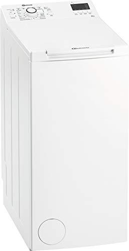 Bauknecht WAT Prime 652 Di N Toplader-Waschmaschine / 6 kg / 1152 UpM/FreshFinish/Startzeitvorwahl/Kurz 30'/ Kaltwäsche-Option/Antiflecken-Programm, Weiß - 1