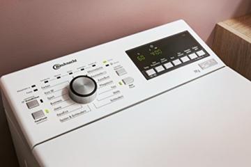 Bauknecht WMT Style 722 ZEN Waschmaschine TL / A+++ / 174 kWh/Jahr / 1200 UpM / 7 kg / extrem leise mit 48 db / Direktantrieb - 4