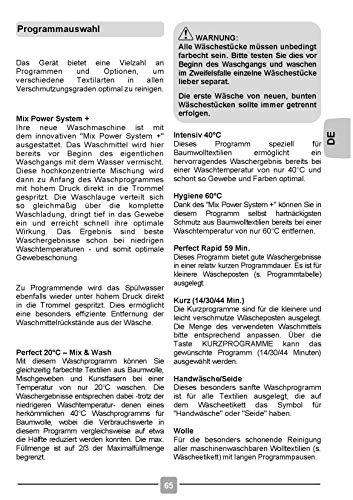 Candy GrandO Vita Toplader-Waschmaschine CVS GTG374DM/1-84, Füllmenge 7 kg, EEK A+++, 17 Programme, Schleuderleistung 1400 U/min, NFC Technologie - 3