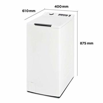 Midea Toplader Waschmaschine TW 5.72 di / 7,5 KG Fassungsvermögen / Energieeffizienzklasse A+++ / Reload Funktion / 1200 U/min / Soft Opener - 12