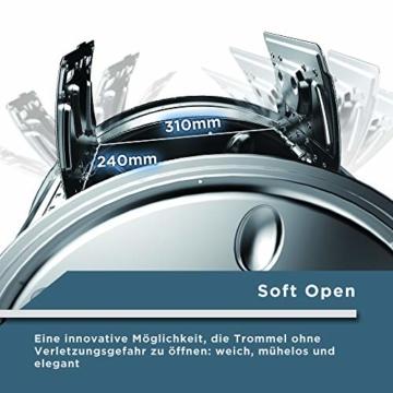 Midea Toplader Waschmaschine TW 5.72 di / 7,5 KG Fassungsvermögen / Energieeffizienzklasse A+++ / Reload Funktion / 1200 U/min / Soft Opener - 4