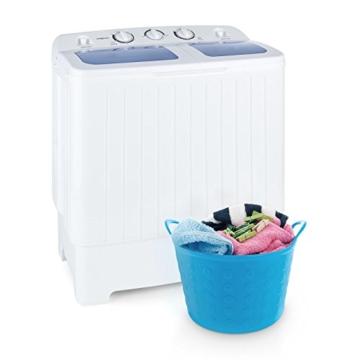 oneConcept Ecowash XL Waschmaschine 4,2 kg Schleuder 3 kg - 1