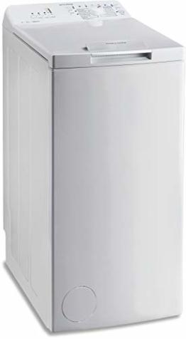 Privileg PWT A51252P (DE) Toplader Waschmaschine / A++ / 5 kg / 1200 UpM / Startzeitvorwahl / Extra Waschen / Extra Spülen / Wolle-Programm / RapidWash-Programme unter 59 Minuten - 1