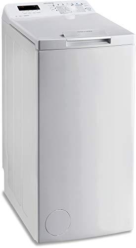Privileg PWT D61253P (DE) Toplader Waschmaschine / A+++ / 6 kg / 1200 UpM / Startzeitvorwahl / Extra Waschen / Extra Spülen / Wolle-Programm / Wasserschutz / RapidWash-Programme unter 59 Minuten - 1