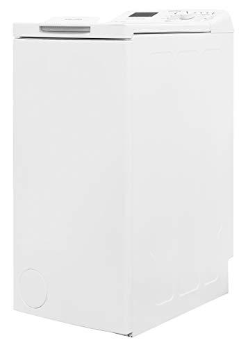 Privileg PWT D61253P (DE) Toplader Waschmaschine / A+++ / 6 kg / 1200 UpM / Startzeitvorwahl / Extra Waschen / Extra Spülen / Wolle-Programm / Wasserschutz / RapidWash-Programme unter 59 Minuten - 6