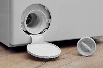 Privileg PWT D61253P (DE) Toplader Waschmaschine / A+++ / 6 kg / 1200 UpM / Startzeitvorwahl / Extra Waschen / Extra Spülen / Wolle-Programm / Wasserschutz / RapidWash-Programme unter 59 Minuten - 8