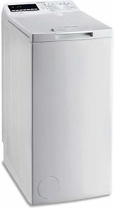 Privileg PWT E71253P (DE) Toplader Waschmaschine / A+++ / 7 kg / 1200 UpM /Soft-Opening/Daunen/Startzeitvorwahl/Wolle-Programm/Wasserschutz/Bügelleicht-Option/Kindersicherung - 1