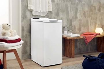 Privileg PWT E71253P (DE) Toplader Waschmaschine / A+++ / 7 kg / 1200 UpM /Soft-Opening/Daunen/Startzeitvorwahl/Wolle-Programm/Wasserschutz/Bügelleicht-Option/Kindersicherung - 8