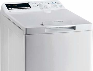 Privileg PWT E71253P N (DE) Toplader Waschmaschine / 7 kg / 1152 UpM/Soft-Opening/Kurz 45'/Startzeitvorwahl/Wolle-Programm/Wasserschutz/Bügelleicht-Option/Kindersicherung Weiß - 3