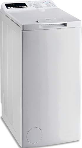 Privileg PWT E71253P N (DE) Toplader Waschmaschine / 7 kg / 1152 UpM/Soft-Opening/Kurz 45'/Startzeitvorwahl/Wolle-Programm/Wasserschutz/Bügelleicht-Option/Kindersicherung Weiß - 1