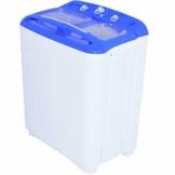 Syntrox Germany A+ 5,2 Kg Waschmaschine mit Pumpe und Schleuder Campingwaschmaschine Mini Waschmaschine - 1