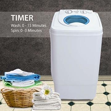 Syntrox Germany A 7 Kg Waschmaschine mit Schleuder Campingwaschmaschine Mini Waschmaschine - 2
