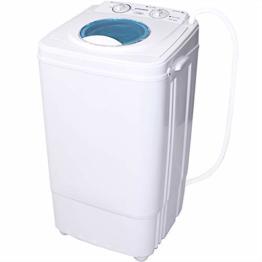 Syntrox Germany A 7 Kg Waschmaschine mit Schleuder Campingwaschmaschine Mini Waschmaschine - 1